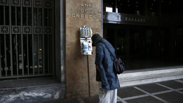Zentralbank füllt Athener Finanzlücke