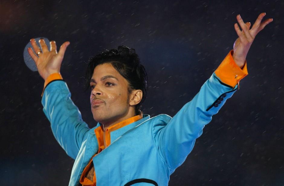 Prince bei einem Auftritt im Jahr 2007