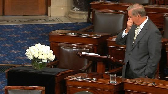 Lindsey Graham hält emotionale Abschiedsrede
