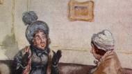 Nicht in meinem Haus! Mrs. Norris zeigt sich im Gespräch mit Lady Bertram entsetzt von der Idee, dass sie Fanny Price ein Zimmer überlassen könnte.