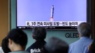 Japan empört über Nordkoreas erneuten Raketentest