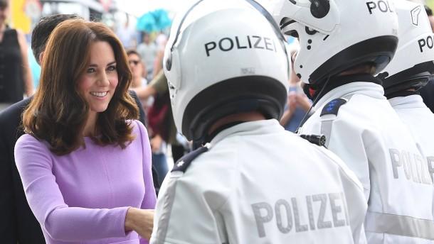 William und Kate bringen royalen Glamour nach Hamburg