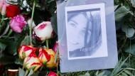 Das Grab der Studentin Tugce in Bad-Soden Salmünster