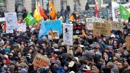 Allein in München versammelten sich 16.000 Acta-Gegner