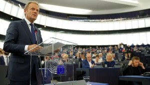 Tusk will Grüne in neue EU-Kommission holen