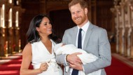 Harry und Meghan mit Archie: Am Samstag wird gefeiert