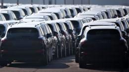 Porsche ruft mehrere Tausend Autos zurück