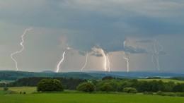 Ab Freitagmittag wieder Regenschauer und Gewitter