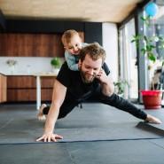 Auch zuhause kann man sich fit halten.