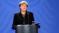 Angela Merkel würdigt Hans-Dietrich Genscher