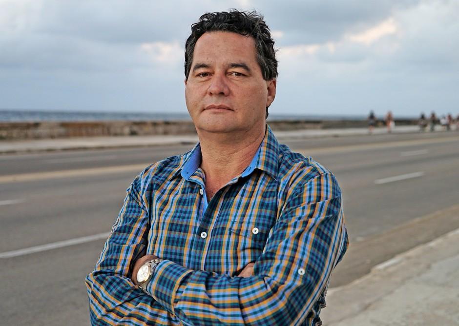 Der Schriftsteller Ángel  Santiesteban lebt derzeit  im Untergrund.