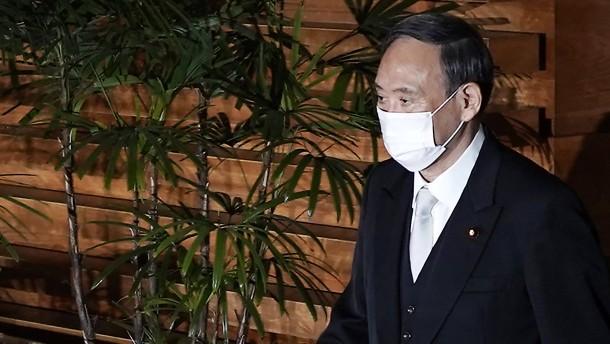 Yoshihide Suga ist neuer Ministerpräsident Japans