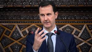Gute Wochen für Assad