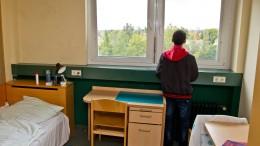Weniger unbegleitete minderjährige Flüchtlinge beantragen Asyl