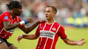 Zwei Eindhoven-Stars: Noni Madueke (l.) und Mario Götze