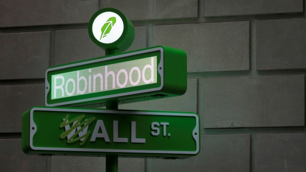Robinhood beruft sich auf freie Rede