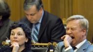 """Ole von Beust sagt: """"Verantwortung lässt einen manchmal nicht schlafen."""" Hier sieht man ihn 2009 bei einer Sitzung in Hamburg."""