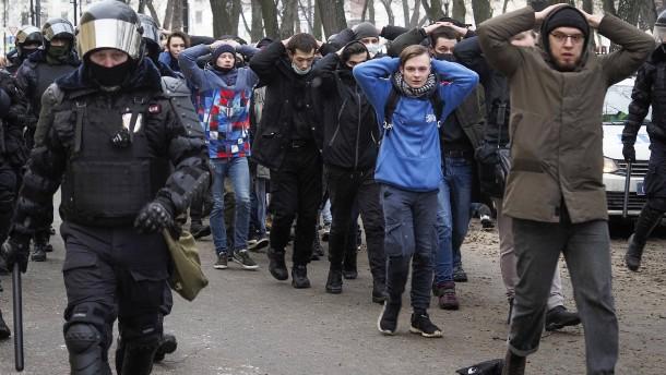 Nawalnyjs Anhänger wollen wieder demonstrieren