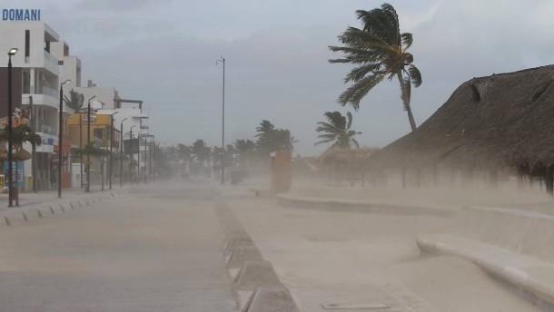 Tropensturm Grace erreicht Mexiko