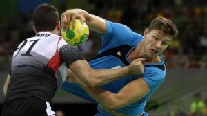 Deutsche Handballer als Gruppensieger im Viertelfinale