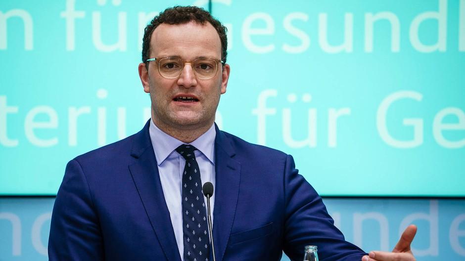 Politikerklärer: Gesundheitsminister Jens Spahn am Mittwoch in Berlin
