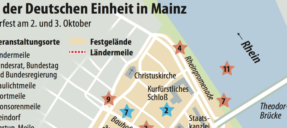 Tag Der Deutschen Einheit In Mainz Ein Bürgerfest Fast Wie Ein