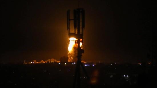 Israel greift Hamas-Ziele an