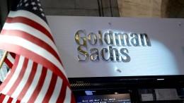 Staatsfonds-Plünderung erreicht Goldman Sachs