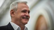 PSD-Chef Liviu Dragnea im Parlament in Bukarest Mitte Dezember.