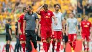 RB Leipzig bereitet sich nach Pokal-Aus auf Bundesliga vor