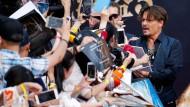 Weltpremiere von Fluch der Karibik 5 in Schanghai