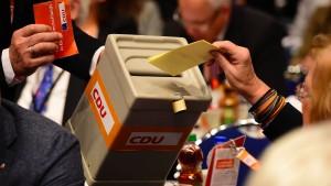 Merkel gegen Parteitagsbeschluss