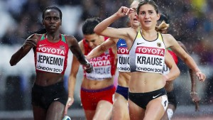 Gesa Krause rennt in London ins Finale