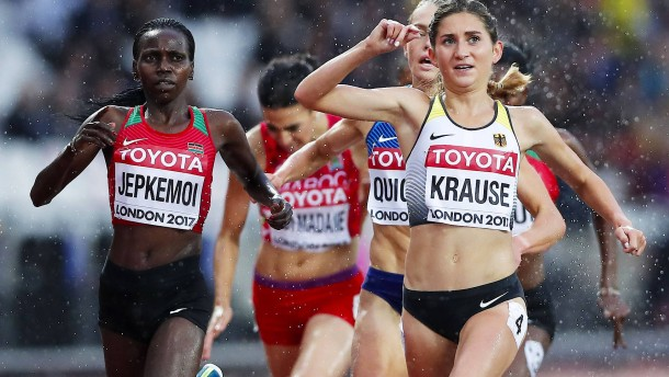 Gesa Krause rennt in London ins Finale
