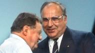 Im Oktober 1986: Franz Josef Strauß war damals bayerischer Ministerpräsident, Helmut Kohl Bundeskanzler.