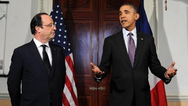 Hollande zu Staatsbesuch bei Obama