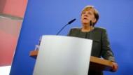 """Merkel: Wahlkampf als """"Feier der Demokratie"""""""
