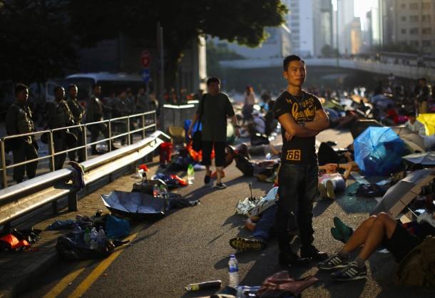 PROTESTAT NË HONGKONG Occupy-hongkong-vom-finanzdistrikt-haben-sich-die-proteste-auf-weitere-viertel-der-stadt-ausgebreitet