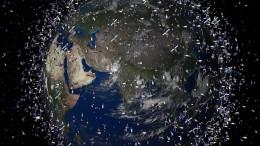 Zu viel Müll im Weltall