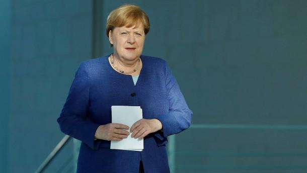 """Merkel zu Corona: """"Wir haben uns viel erspart"""""""