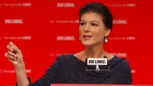 Wagenknecht geht auf Distanz zu SPD und Grünen