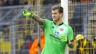 Da geht's lang: Loris Karius hat seinen Weg in der Bundesliga bislang mit Bravour gemeistert.