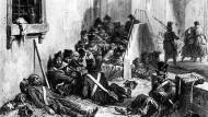 Die Soldaten der Völkerschlacht von Leipzig werden von Typhus heimgesucht. (Archivbild)