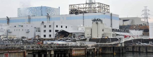 Die Ruine des Atomkraftwerks Fukushima (Archivfoto vom März 2011)