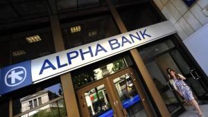 Griechenlands Banken kehren zurück an die Märkte