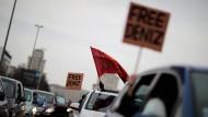 Demonstration in Berlin für die Freilassung des deutschen Journalisten Deniz Yücel aus türkischer Haft