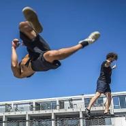 """Neu, hip, mit einer gut erzählbaren Story – aber trotzdem bisher nur etwas für eine kleine Gemeinde von Fans: Sportler bei """"Movision Movement"""" in Berlin"""