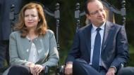 Gehen jetzt getrennnte Wege: François Hollande und Valérie Trierweiler