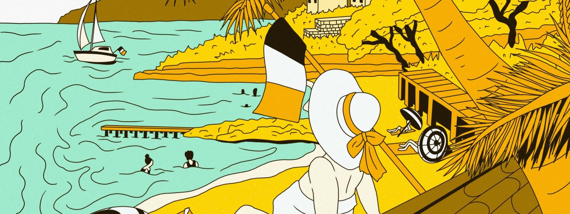 Ein Sandstrand wird zur Weltmarke