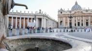 Brunnen im Vatikan wegen Wasserknappheit abgestellt